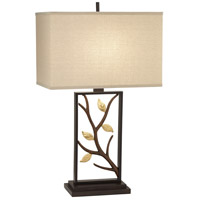 Pacific Coast 9P668 Vera 29 inch 150 watt Bronze w/Gold Table Lamp Portable Light