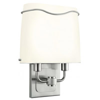 Elgin 1 Light 10 inch Satin Nickel ADA Wall Sconce Wall Light