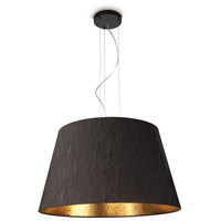 Fabio 1 Light Black Pendant Ceiling Light