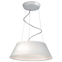 Cielo LED 23 inch White Pendant Ceiling Light