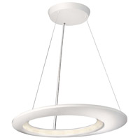 Ecliptic 16 Light 26 inch White Pendant Ceiling Light