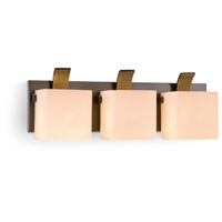 Colton 3 Light 15 inch Oiled Bronze Bath Light Wall Light