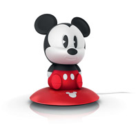 SoftPal 7 inch 1 watt Black Portable Nightlight Portable Light, Mickey