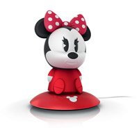 SoftPal 7 inch 1 watt White Portable Nightlight Portable Light, Minnie