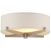 Fisher Island White Grasscloth 15 inch Shade