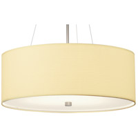 Taylor White Grasscloth 24 inch Shade, With Diffuser