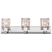 Gold Coast Special 3 Light Chrome Bath Light Wall Light