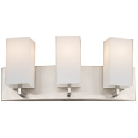 Avenue 3 Light 18 inch Satin Nickel Bath Light Wall Light