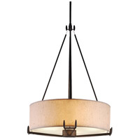 Urban Oasis 4 Light 22 inch Bronze Luster Pendant Ceiling Light