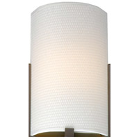 Bow White Grasscloth 7 inch Shade