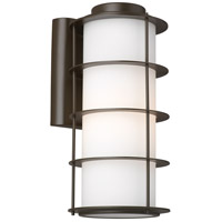 Hollywood Hills 1 Light 16 inch Deep Bronze Outdoor Wall Lantern