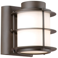 Philips F849668 Hollywood Hills 1 Light 6 inch Deep Bronze Outdoor Wall Lantern