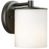 Midnight 1 Light 7 inch Black Outdoor Wall Lantern