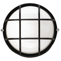 Oceanview 1 Light 10 inch Black Outdoor Wall Lantern