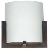 Bow LED 12 inch Merlot Bronze ADA Wall Sconce Wall Light