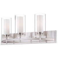 Hula 3 Light 25 inch Satin Nickel Bath Light Wall Light