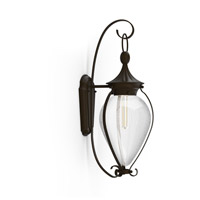 Soliflore 1 Light 22 inch Oiled Bronze Outdoor Wall Lantern