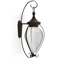 Soliflore 1 Light 28 inch Oiled Bronze Outdoor Wall Lantern