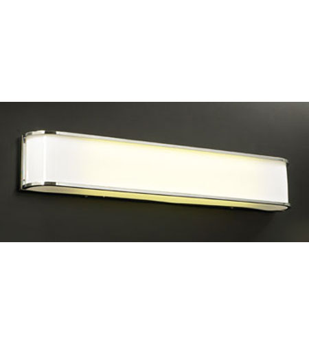 PLC Lighting Torrel 2 Light Vanity Light in Polished Chrome 1014-PC photo