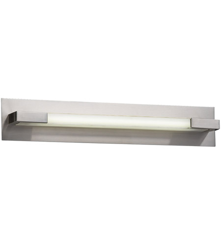 PLC Lighting 1044SNLED Polis LED 27 inch Satin Nickel Vanity Light Wall Light photo