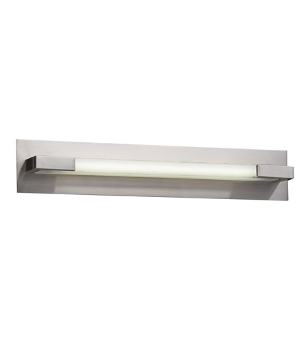 PLC Lighting Polis 1 Light Vanity Light in Satin Nickel 1044-SN photo