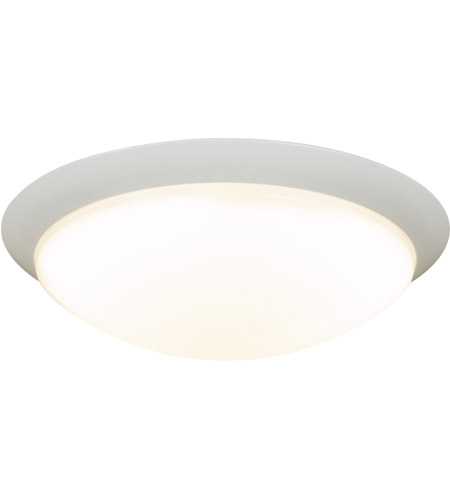 PLC Lighting 1110WH Max LED 16 inch White Flush Mount Ceiling Light photo