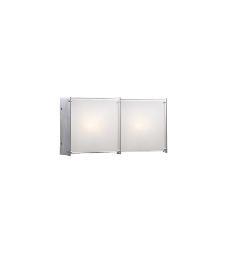PLC Lighting 1172-AL Aeon 2 Light 16 inch Aluminum Vanity Light Wall Light photo