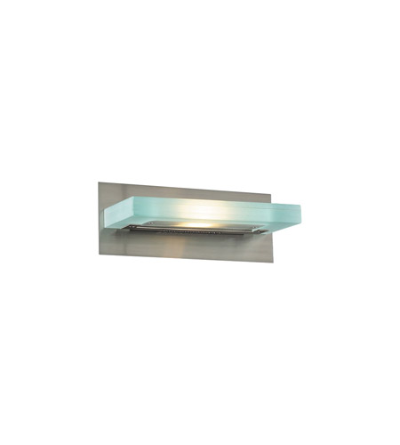 PLC Lighting Slim 1 Light Vanity Light in Satin Nickel 1420-SN photo