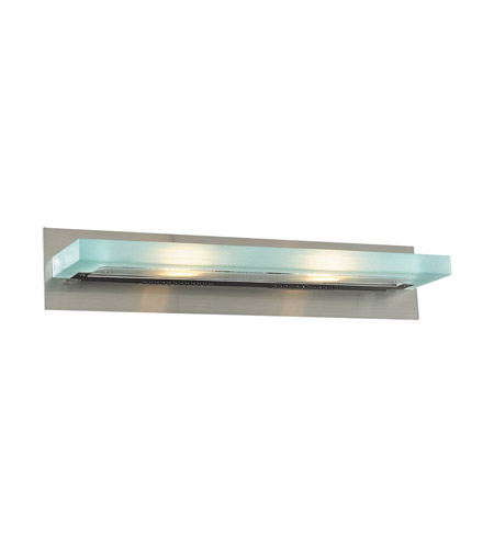 PLC Lighting Slim 2 Light Vanity Light in Satin Nickel 1430-SN photo