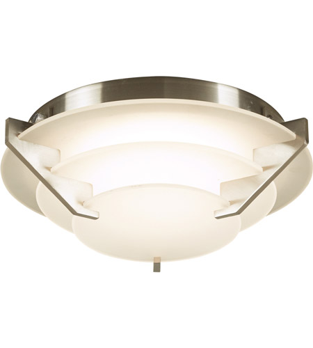 PLC Lighting 1542SN Palladium LED 9 inch Satin Nickel Flush Mount Ceiling Light photo