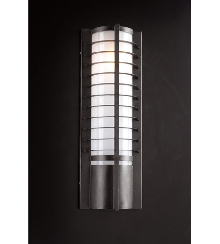 PLC Lighting Terrace 2 Light Outdoor Wall Sconce in Bronze 16652-BZ photo