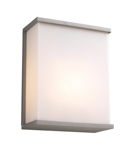 PLC Lighting 1723-SL Pinero 1 Light 10 inch Silver Outdoor Wall Sconce photo