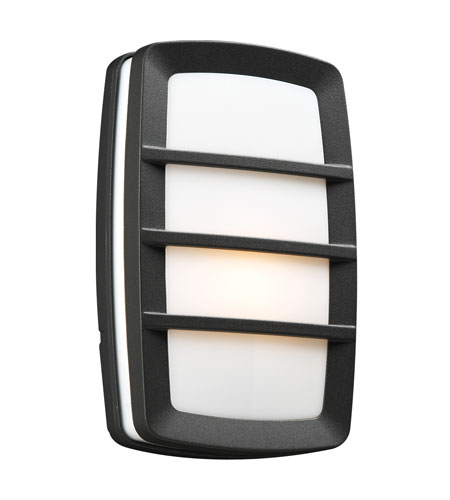 PLC Lighting Aston 1 Light Outdoor Wall Sconce in Bronze 1734-BZ photo