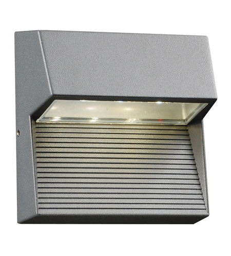 PLC Lighting 1771-BZ Faro LED 6 inch Bronze Outdoor Wall Sconce photo
