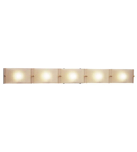 Polished Chrome Gem Bathroom Vanity Lights