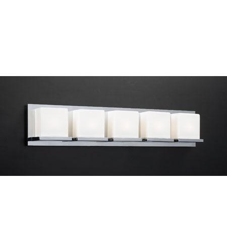PLC Lighting Furlux 5 Light Vanity Light in Polished Chrome 18155-PC photo