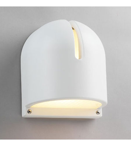 PLC Lighting Phoenix 1 Light Outdoor Wall Sconce in White 2024-WH photo