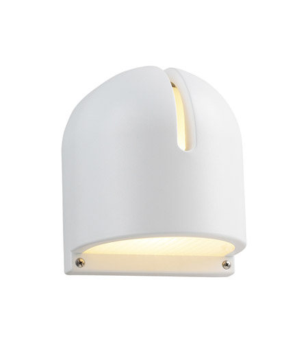 PLC Lighting 2024-WH Phoenix 1 Light 9 inch White Outdoor Wall Light in Incandescent photo