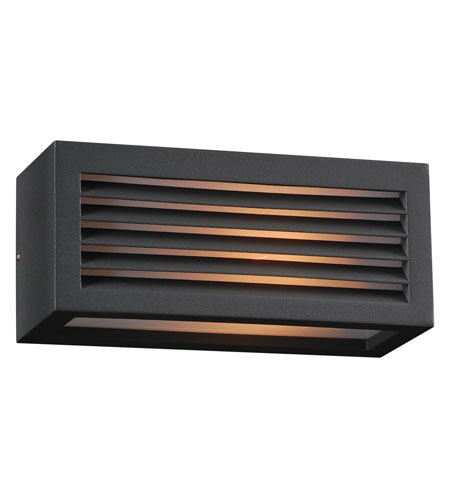 PLC Lighting 2242-BZ Madrid 1 Light 4 inch Bronze Outdoor Wall Sconce photo