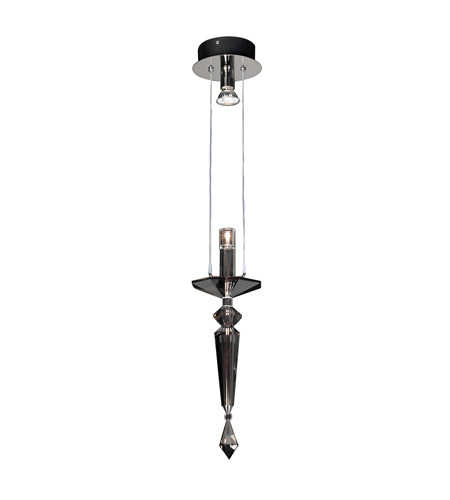 PLC Lighting Lamore 2 Light Mini Pendant in Polished Chrome 23661-PC photo