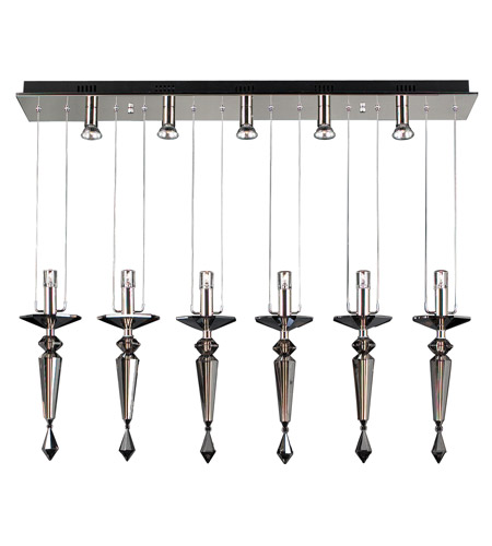 PLC Lighting Lamore 11 Light Mini Pendant in Polished Chrome 23664-PC photo