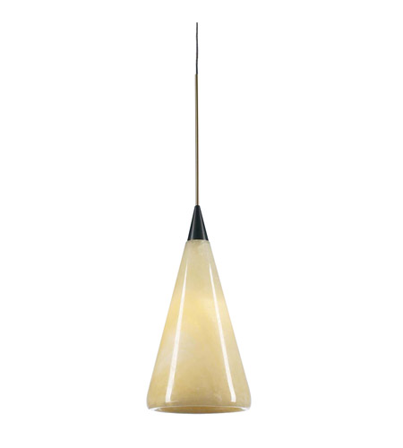 PLC Lighting Caroline 1 Light Mini Pendant in Oil Rubbed Bronze 283-ORB photo