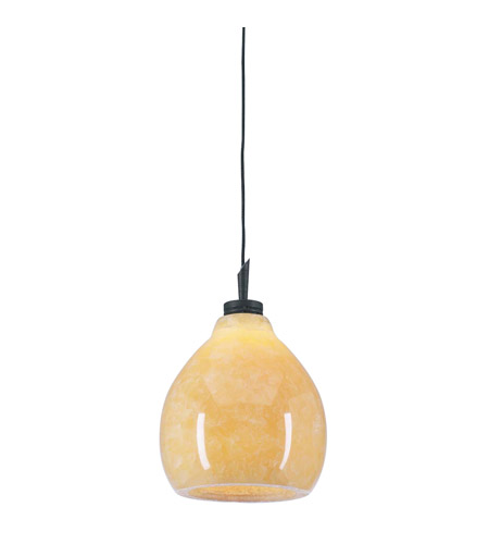 PLC Lighting Mango 1 Light Mini Pendant in Oil Rubbed Bronze 284-ORB photo