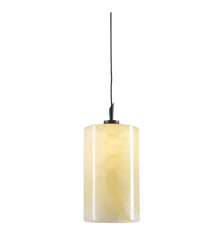 PLC Lighting 288-ORB Cylindro 1 Light 4 inch Oil Rubbed Bronze Mini Pendant Ceiling Light photo