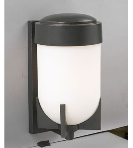PLC Lighting Firenzi 1 Light Outdoor Wall Sconce in Oil Rubbed Bronze 31758-ORB photo
