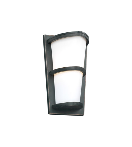 PLC Lighting 31912-ORB Alegria 1 Light 13 inch Oil Rubbed Bronze Outdoor Wall Sconce photo