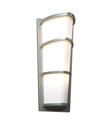 PLC Lighting 31915-SL Alegria 2 Light 22 inch Silver Outdoor Wall Sconce photo