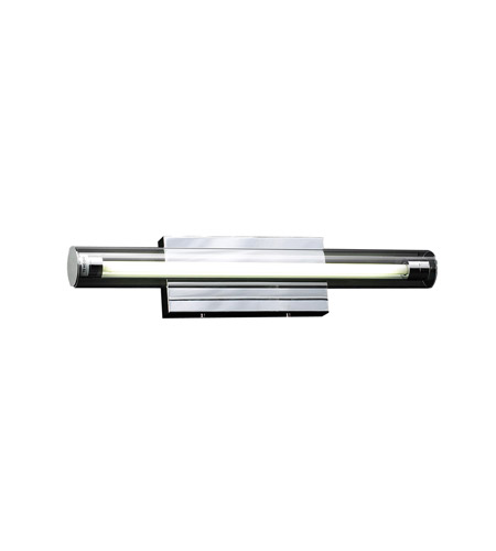PLC Lighting Iluminados 1 Light Vanity Light in Polished Chrome 3342-PC photo