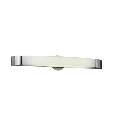 PLC Lighting Delaney 1 Light Vanity Light in Satin Nickel 3376-SN photo