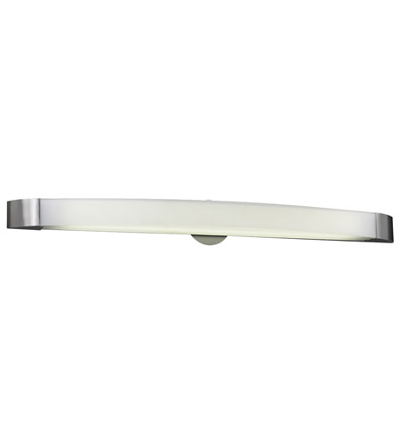 PLC Lighting Delaney 1 Light Vanity Light in Satin Nickel 3378-SN photo